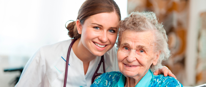 idosos enfermaria
